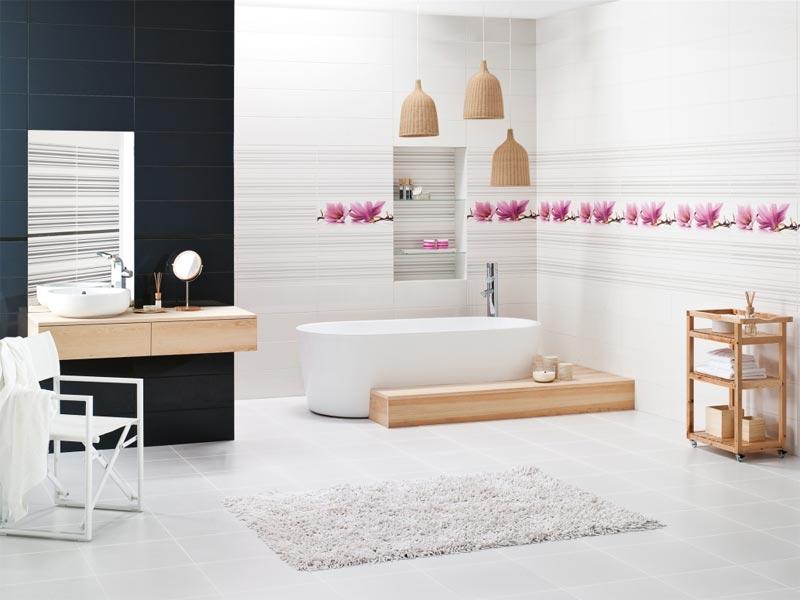 Коллекция Abrila. Фабрика PARADYZ. Керамическая плитка для ванной Польша