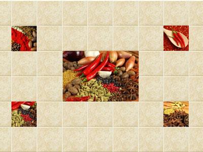 Коллекция Spice. Фабрика VICTORIA CERAMIСA. Керамическая плитка для кухни Польша.