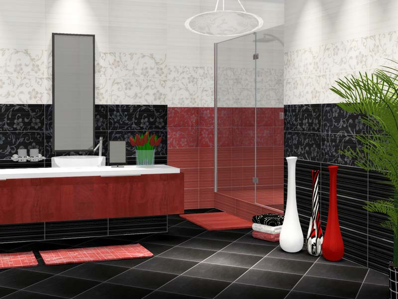 Коллекция Crypton. Фабрика CERAMIKA COLOR. Керамическая плитка для ванной Польша