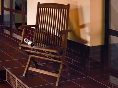 Коллекция Burgund. Фабрика CERRAD. Клинкерная плитка напольная и ступени Польша