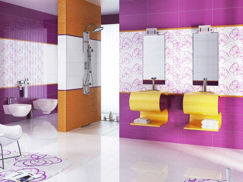 Коллекция Vivida/Vivido. Фабрика PARADYZ. Керамическая плитка для ванной Польша.