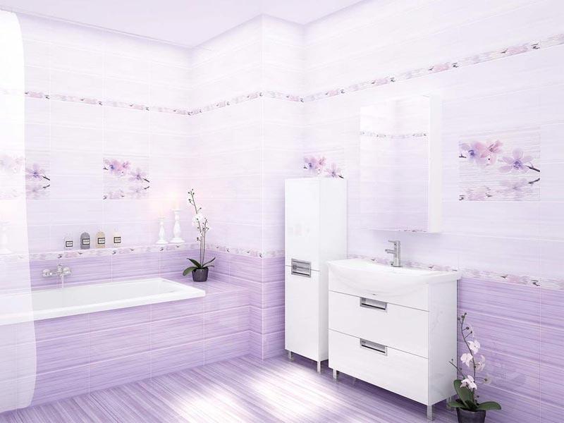 Коллекция Miracle. Фабрика CERSANIT. Керамическая плитка для ванной Польша.