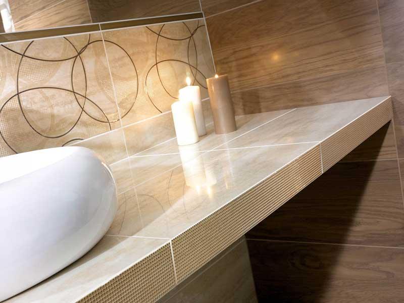 Коллекция Amiche/Amici. Фабрика PARADYZ. Керамическая плитка для ванной Польша