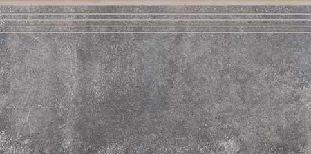 ступень неглазурованный Montego antracyt 79.7*39.7. Коллекция Montego