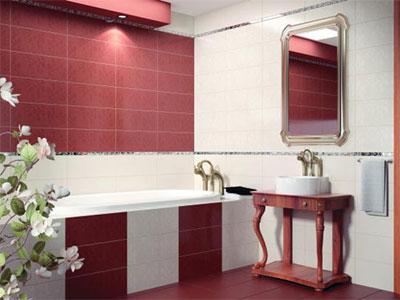 Коллекция Roxanne. Фабрика CERAMIKA KONSKIE. Керамическая плитка для ванной Польша.