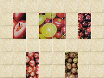 Коллекция Fruit. Фабрика VICTORIA CERAMIСA. Керамическая плитка для кухни Польша