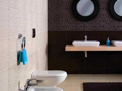 Коллекция Zebrano. Фабрика OPOCZNO. Керамическая плитка для ванной Польша.