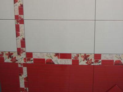 Коллекция Bellagio Red. Фабрика VICTORIA CERAMIСA. Керамическая плитка для ванной Польша