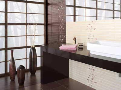 Коллекция Fiji. Фабрика OPOCZNO. Керамическая плитка для ванной Польша.